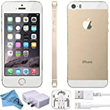 Apple iPhone 5S Factory Unlocked GSM 4G LTE Smartphone (Certified Refurbished) (Gold, 16GB)