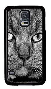 carrying Samsung Galaxy S5 cover Black Cats PC Black Custom Samsung Galaxy S5 Case Cover