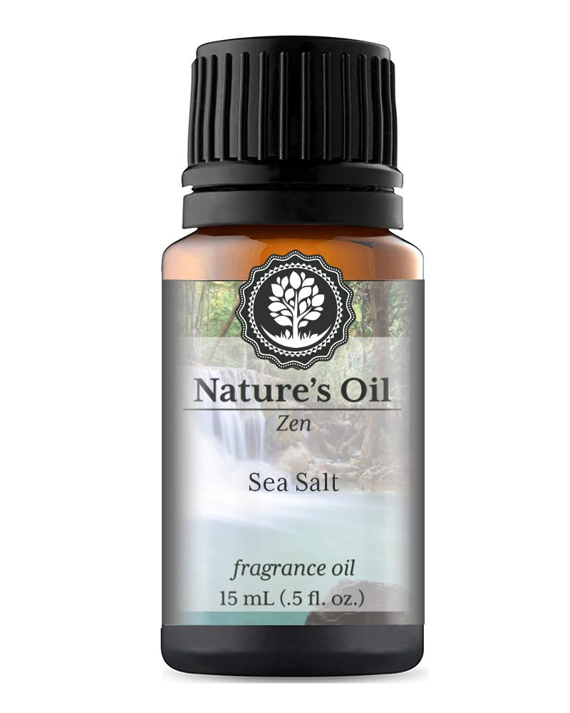Sea Salt Fragrance Oil (15ml) For Diffusers, Soap Making, Candles, Lotion, Home Scents, Linen Spray, Bath Bombs, Slime