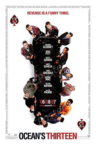 MCPosters Ocean's Thirteen GLOSSY FINISH Movie Poster - MCP433 (24