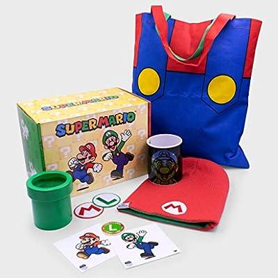 Culturefly Caja de Regalo de coleccionista Super Mario con ...
