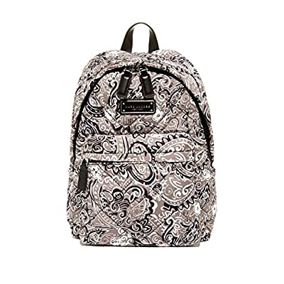 Marc by Marc Jacobs Quilted Nylon Backpack (Grey Paisley) delicate
