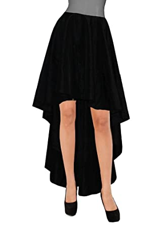 E K Womens Plus Size Taffeta Skirt Mullet Evening Formal Prom