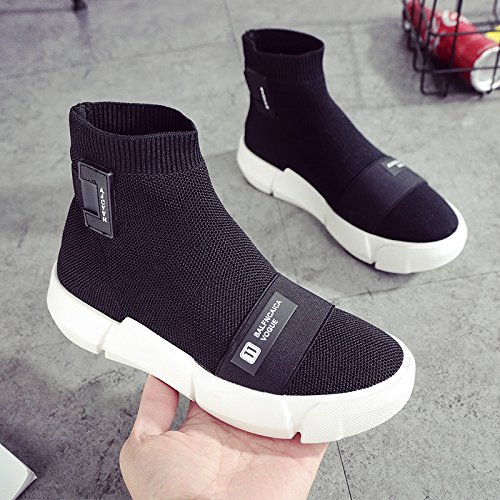 Female Sports GUNAINDMXShoes five Shoes Socks Eight New All Thirty Flat Shoes black Leisure Match Models Thirty Black w0wrz