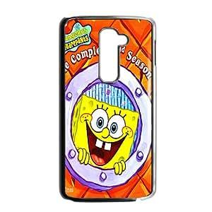 SpongeBob Case Cover For LG G2 Case