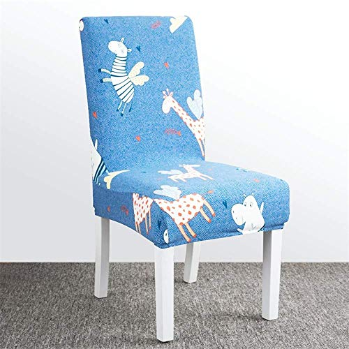 XHCP Chair Cover Dining Chair Covers Siamese Stretch Chair Home Restaurant All-Inclusive Back Cover Seat Seat Cushion Anti-Dirty Detachable,H