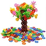 AWESOME Flakes 300 Discs Building Set Engineering Toy - Promotes Fine Motor Skills Development - Therapy Tools   STEM Challenges   KIDS SAFE Material! Lab Test Approved!