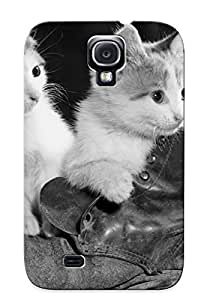 Quality Storydnrmue Case Cover With Animal Cute Cat Nice Appearance Compatible With Galaxy S4()