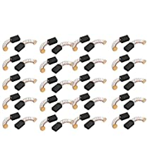 uxcell® 20 Pairs Electric Drill Motor Rotary Power Tool Carbon Brush 5 x 8 x 12mm