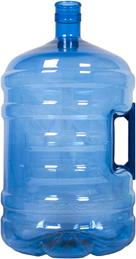 HODS HOME OFFICE DELIVERY SERVICES Botellón de 18.9 litros, para Agua. Compatible con Tapones de 5 galones. Apto para dispensadores de Agua. Color Azul. Libre de bisfenol-A: Amazon.es: Hogar