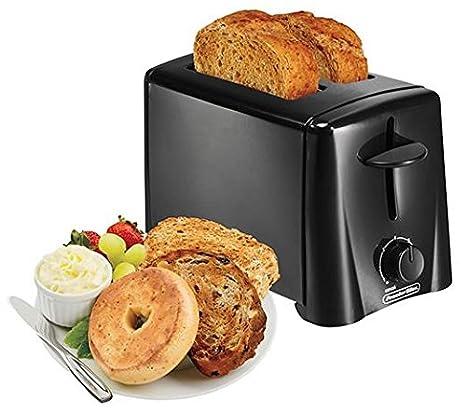 Amazon.com: Proctor Silex 22612 2-Slice Toaster, color negro ...