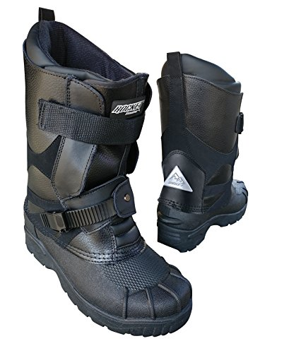 Joe Rocket 1825-009 SnowGear Black US 09 Snowmobile Boot,...