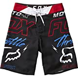 Fox Racing Big Boys' Throttled Boardshorts,26,Black