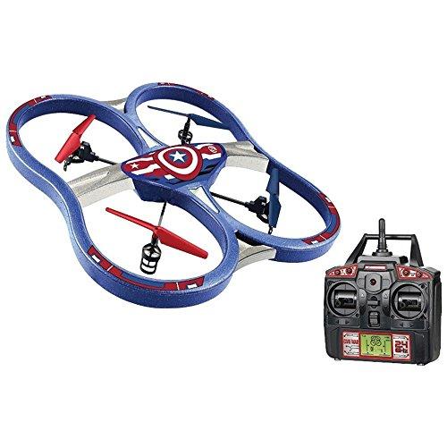 UPC 813023018873, Marvel 4.5CH Gyro 2.4Ghz Captain America SPY Drone UFO RC Quadcopter