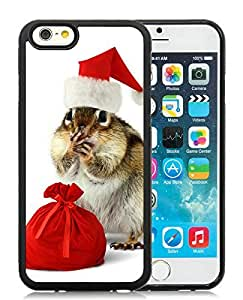 Personalized iPhone 6 Case,The Fift of the Squirrel Black iPhone 6 4.7 Inch TPU Case 1