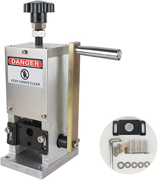 Cable Wire Stripper Manual Stripping Machine Scrap Copper 1.5-25mm Drill Connect
