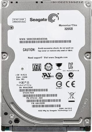 SEAGATE MOMENTUS THIN 320GB DRIVERS PC