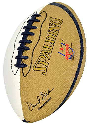 Spalding AFL 2 White Autograph Panel Kids Mini Football Spalding Autograph