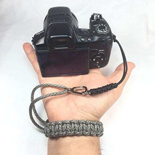 ACU Digital Camo Paracord Cobra DSLR Camera Camcorder Wrist ()