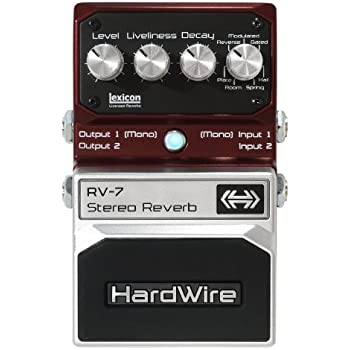 DigiTech RV-7 HardWire Stereo Reverb Extreme-Performance Pedal