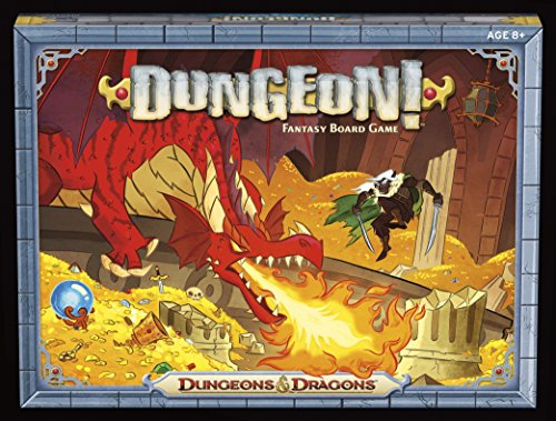 Wizards of the Coast A78490000 Dungeon! Fantasy Board Game ()