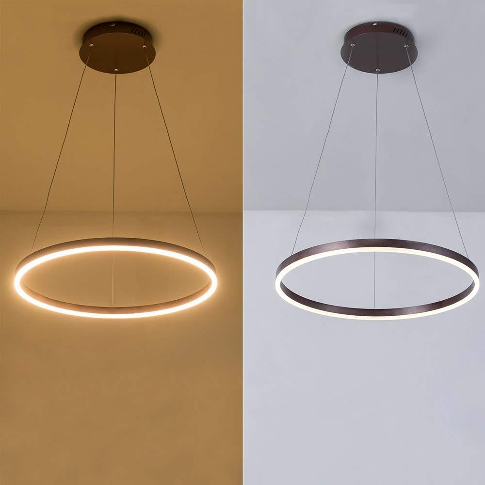 Amazon.com: Lámpara de techo colgante de metal, lámpara de ...
