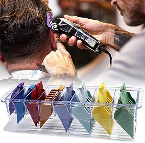 Máquina de afeitar eléctrica CCI 8 en 1 Power Generation peine de las podadoras Límite Especial del peine del pelo Pinza universal ultra-delgado límite Peine nuevo en 2020