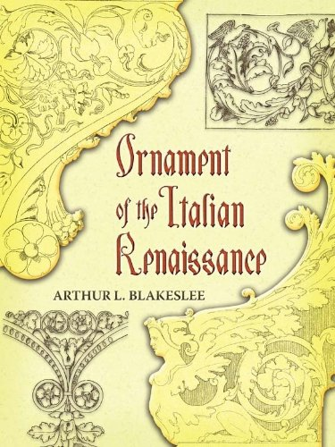Ornament of the Italian Renaissance (Dover Pictorial Archive) -