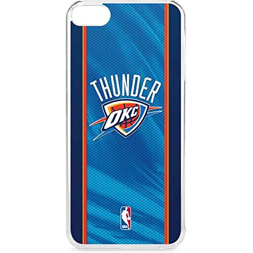 Skinit NBA Oklahoma City Thunder iPod Touch 6th Gen LeNu Case - Oklahoma City Thunder Blue Jersey Design - Premium Vinyl Decal Phone Cover by Skinit