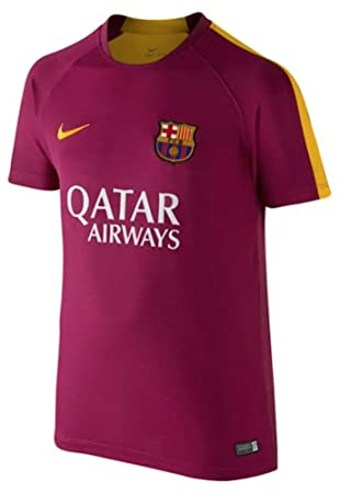 Nike FCB Flash PM SS Top 2 - Camiseta Fútbol Club Barcelona 2015/2016 para