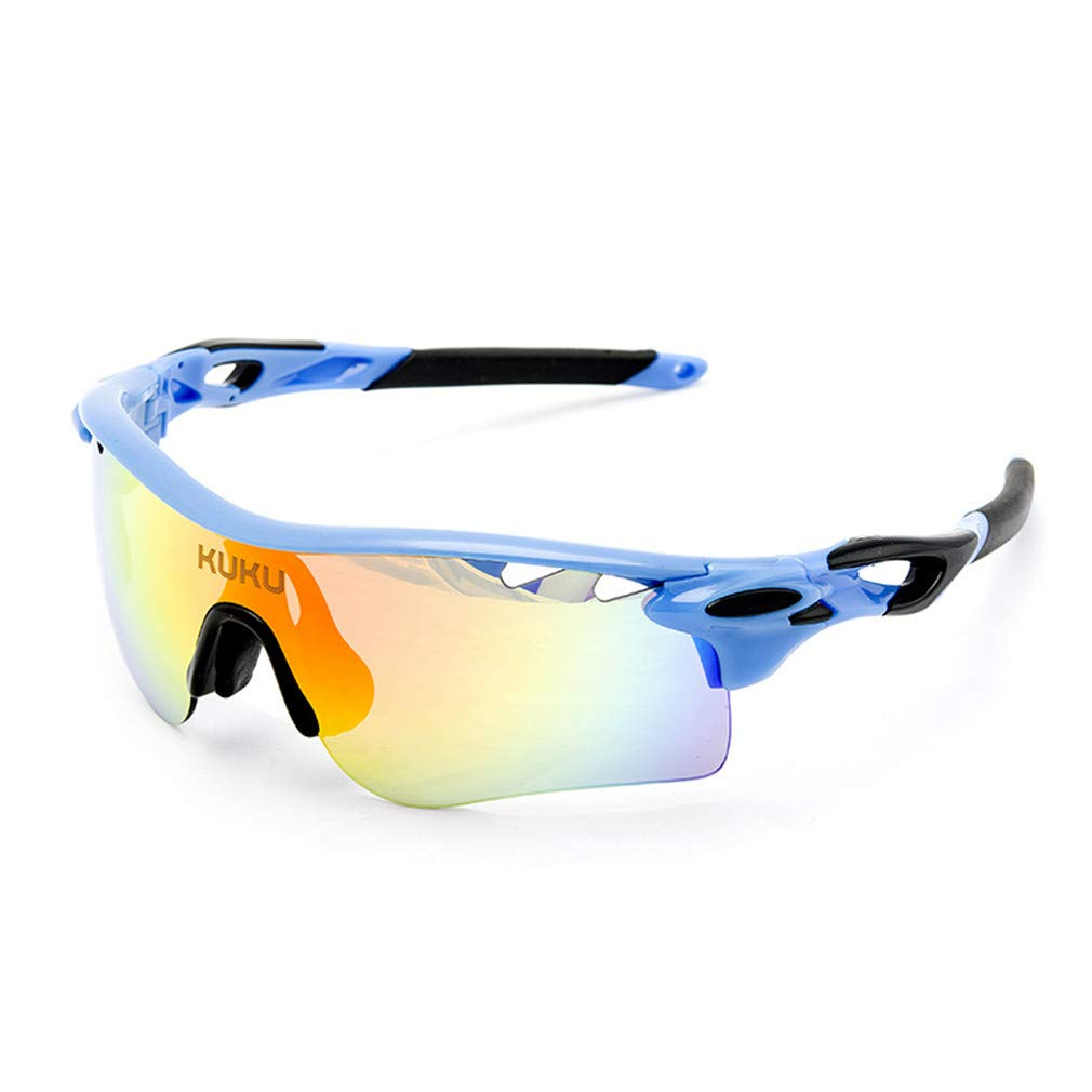 K Cycling Glasses Men and Women Outdoor Sports Glasses Polarized Bicycle Glasses Glasses 5 Interchangeable Lenses