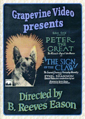 DVD : The Sign Of The Claw (Black & White, Silent Movie)