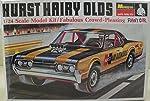 Hurst Hairy Olds 442 Oldsmobile 1967 Funny Car Vintage 1995 1/24 Scale Model Kit from Revell-Monogram