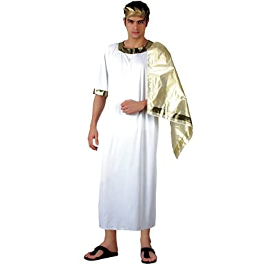 Ancient Greek Mens Fancy Dress Halloween Costume S