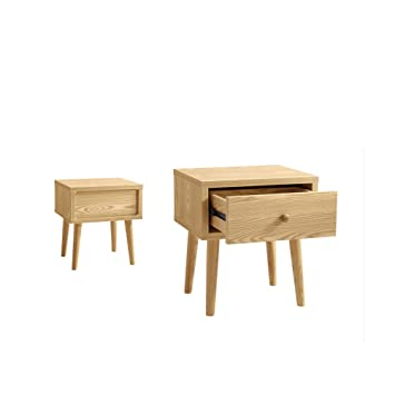 Amazon.com: LRZS Dormitorio Simple, Mini Mesita De Noche, De ...