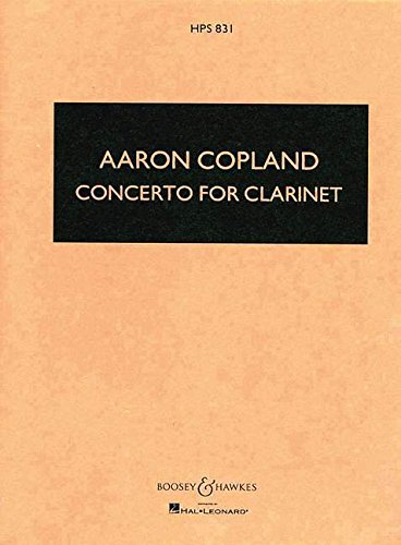 Concerto : for clarinet and string orchestra with harp and piano