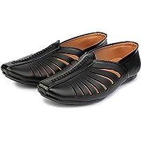 EDME Ethnic Rajasthani Peshawari Pathani | nagra Juti Juttis Sandals Shoes Shoe Footwear for Men and Boys Latest Unique Design | Mens Boys