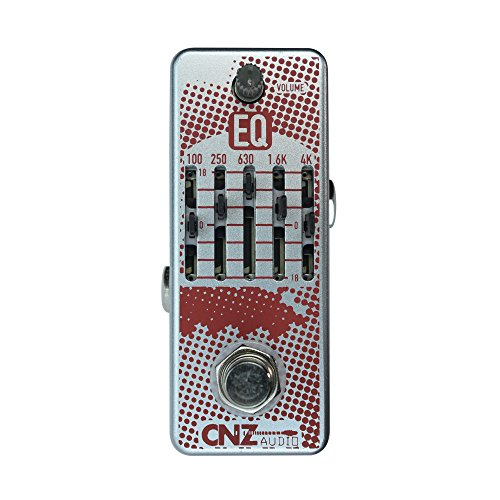 CNZ Audio EQ - Equilizer Guitar Effects Pedal, True Bypass by CNZ Audio