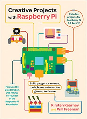 Amazon com: Creative Projects with Raspberry Pi