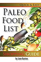 Paleo Food List: Paleo Food Shopping List for the Supermarket; Diet Grocery list of Vegetables, Meats, Fruits & Pantry Foods