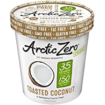 Arctic Zero Toasted Coconut Creamy Pint, 16 Ounce (Pack of 6)