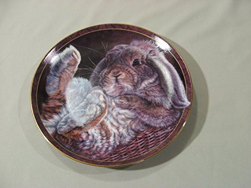 Footloose Bunny Tales Bradford Exchange Collector's Plate First Issue Vivi K. ()