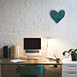 Heart Symbol - Metal Wall Art Home Decor - Handmade