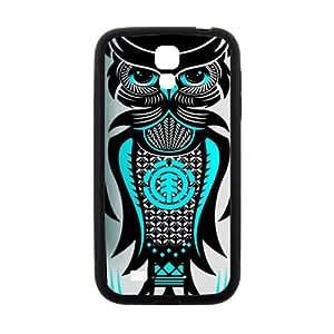 Cute Owl Cool Black Samsung Galaxy S4 case