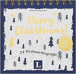 Weihnachtsgrüße Englisch.Neu 24 Englische Weihnachtsgrüße Und Zitate Als Postkarten Merry