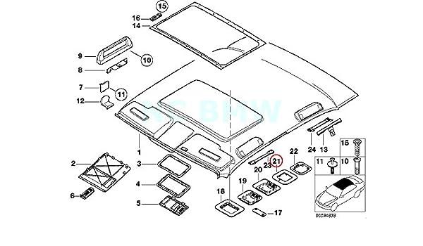 Amazon Com Bmw Genuine Bracket F Ultrasonic Module Top Automotive