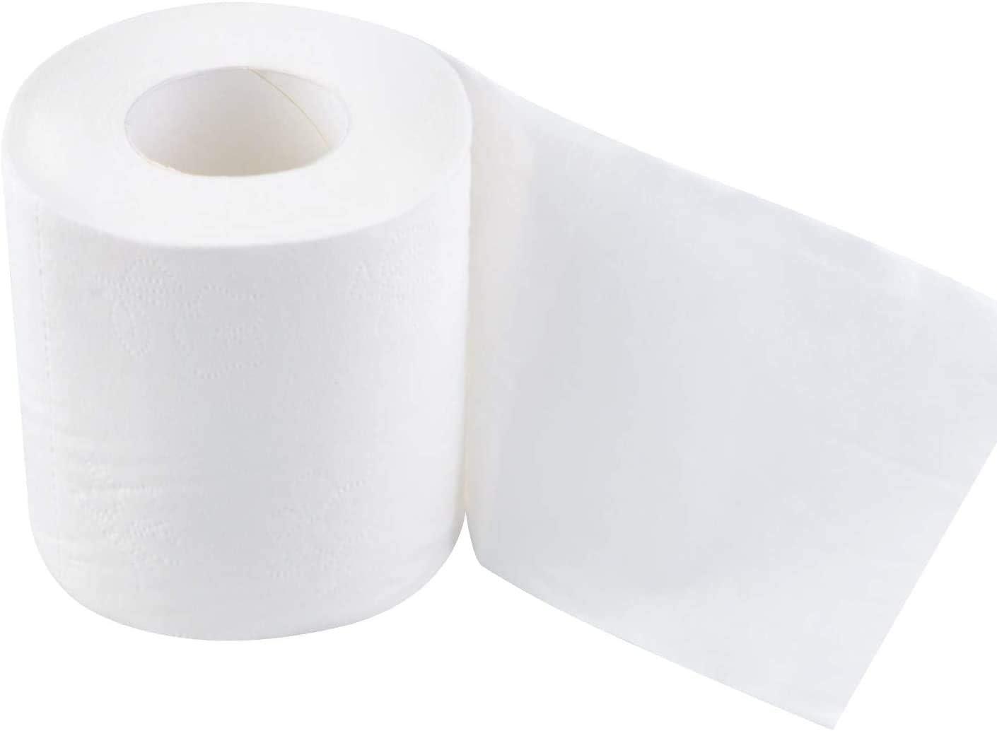 Papel Higiénico Una Bolsa De 16 Rollos De Papel Higiénico Super Suave Papel Higiénico Blanco Para Uso Doméstico Un Rollo De 150 Hojas Estándar Capas Blanco Health Personal Care
