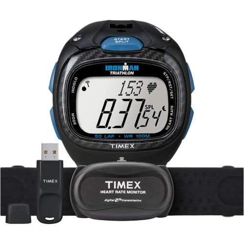 (Timex Full-Size T5K489 Ironman Race Trainer Pro Watch Kit)