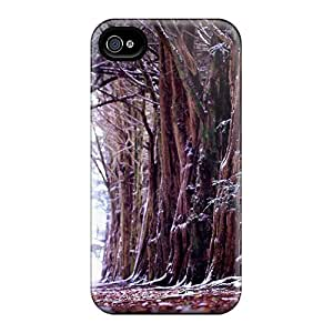 Tpu Case For Iphone 4/4s With Arboles