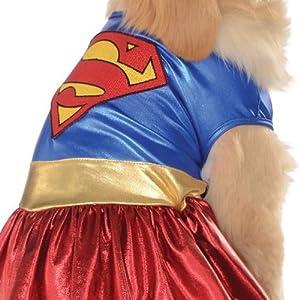 DC Comics Pet Costume, Small, Supergirl